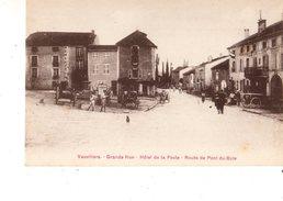 70----VAUVILLIERS--grande Rue--hôtel De La Poste--route De Pont Du Bois--voir 2 Scans - France