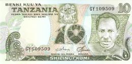 TANZANIE   10 Shilingi   ND (1978)   Sign.3   P. 6c   UNC - Tanzania