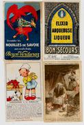 Lot 164 De 10 CPA CPSM Publicité Publicitaire Réclame Déstockage Pour Revendeurs Ou Collectionneurs - Cartes Postales