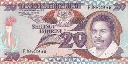 TANZANIE   20 Shilingi   ND (1987)   Sign.3   P. 15   UNC - Tanzania