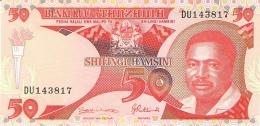 TANZANIE   50 Shilingi   ND (1992)   Sign.8   P. 19   UNC - Tanzania