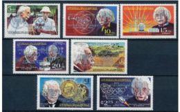 Nicaragua  IYC AIE Overprint Silver On Albert EINSTEIN