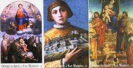 *SAN MARINO - N. 7099/7101* -  Serie Completa NUOVA (MINT) - San Marino