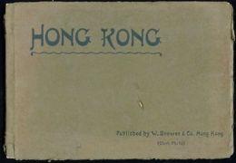 China, HONG KONG, Book With 24 Pictures Of Hong Kong By Brewer & Co. (1910s) - China (Hong Kong)
