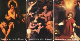 *SAN MARINO - N. 7111/7113* -  Serie Completa NUOVA (MINT) - San Marino