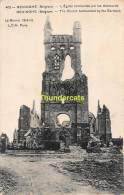 CPA RENINGE RENINGHE LA GUERRE 1914 16 L'EGLISE BOMBARDEE PAR LES ALLEMANDS - Lo-Reninge