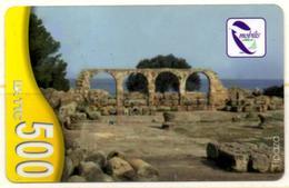 Phonecard Télécarte Mobilis Algérie Algeria - Tipasa Roman Ruins Ruines Romaines Telefonkarte - Algeria