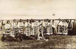 New Zealand, RUATOKI, Native Maori Poi Dance (1907) RPPC Queensland Stamp - New Zealand
