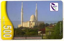 Phonecard Télécarte Mobilis Algérie Algeria - Constantine Mosquée Mosque Moschee Mezquita Telefonkarte