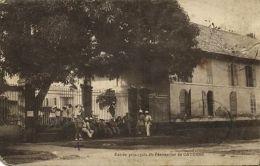 French Guyana, CAYENNE, Entrée Principale Du Pénitencier, Prison Jail (1933) - Postcards