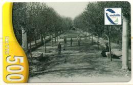 Phonecard Télécarte Mobilis Algérie Algeria - Alger Jardin D'Essai - Algiers Essai's Garden Telefonkarte