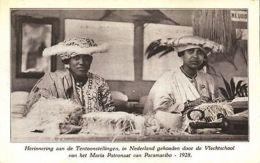 Suriname, Expo Rememberance Maria Patronage Braiding School Of Paramaribo (1928) - Surinam