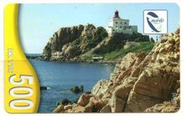 Phonecard Télécarte Algérie Algeria Jijel Phare Lighthouse Leuchtturm Phares Lighthouses Faro Lanterna Fyr Telefonkarte