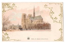 75 - PARIS . ABSIDE DE NOTRE-DAME - Réf. N°672 - - Notre Dame De Paris
