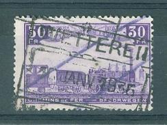 """BELGIE - OBP Nr TR 198 - - Cachet  """"WETTEREN"""" - Cote 5,00 € -(ref. 11.237) - Chemins De Fer"""