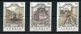 ITALIA :  Serie   Fontane D'Italia  3a Serie  3 Valori  MNH**  Del 30.10.1975 - 1971-80: Ungebraucht
