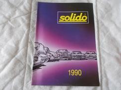 Catalogue Solido 1990 - Modélisme
