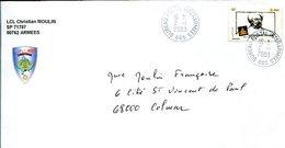 VR 677 Kosovo Poste Militaire Française Lettre De Pristina 1er Jour Du BPI 665 2.1.2003 - Kosovo