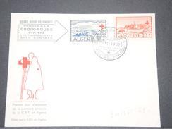 FRANCE / ALGÉRIE - Enveloppe Croix Rouge En 1952 - A Voir - L 6262 - Algérie (1924-1962)