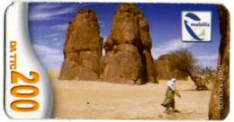 Phonecard Télécarte Mobilis Algérie Algeria - Tamanrasset Desert Sahara Telefonkarte Telefonica - Algérie