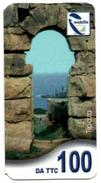Phonecard Télécarte Mobilis Algérie Algeria - Tipaza Tipasa Roman Ruins Telefonkarte Telefonica - Algeria