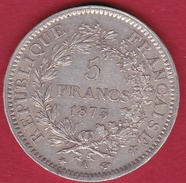 France 5 Francs Hercule 1873 A - France
