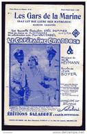 """PARTITION - LES GARS DE LA MARINE - FILM """"LE CAPITAINE CRADDOCK"""" - U.F.A. -MUSIQUE : W.R. HEYMANN - PAROLES : JEAN BOYER - Musique & Instruments"""