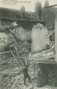 Bergues - Bombardement De Bergues - Mai-Juin 1915 - La Rue De La Gare - Bergues