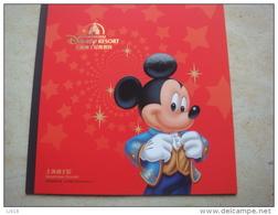 China 2016 Deluxe Stamp Book Disney Land ShangHai Resort Booklet Present - 1949 - ... Volksrepubliek