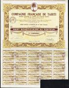 FR043  Compagnie Francaise De Tahiti - Zonder Classificatie
