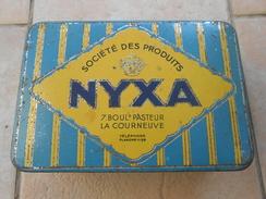 Boîte Métal NYXA Citron - Scatole