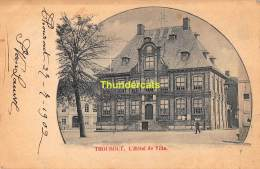 CPA TORHOUT THOUROUT  HOTEL DE VILLE - Torhout