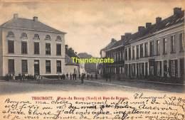 CPA TORHOUT THOUROUT  PLACE DU BOURG NORD RUE DE BRUGES - Torhout