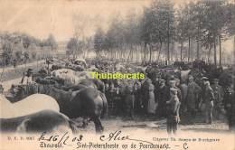 CPA TORHOUT THOUROUT  SINT PIETERSFEESTE OP DE PEERDEMARKT - Torhout