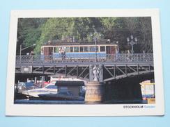 DJURGARDSBRON - STOCKHOLM Sweden ( TRAM ) 19?? ( Zie Foto's ) ! - Suède