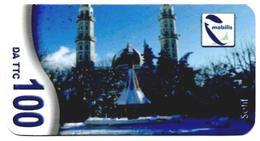 Phonecard Télécarte Mobilis Algérie Algeria - Setif Mosquée Mosque Moschee Mezquita Telefonkarte