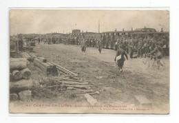 51-Au Camp De CHALONS-Embarquement Du Personnel-Train-Dos Non Divisé - Regiments