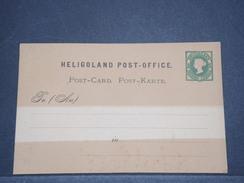 ALLEMAGNE - Entier Postal De Héligoland  Non Voyagé - A Voir - L 6290 - Héligoland