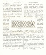 "LE JEU DU "" REVERSI ""   1893 - Other Collections"