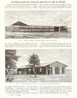 LES INSTALLATIONS DE L'ECOLE DE  SAINT-CYR AU CAMP DE CHALON   1893 - Unclassified