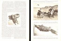 LES CERF-VOLANTS JAPONAIS 1887 - Unclassified