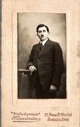 PHOTO EXPRESS MAXIMIN A ANGOULEME - Antiche (ante 1900)