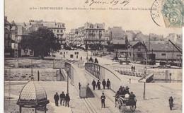 """SAINT-NAZAIRE. - Nouvelle Entrée - Pont Roulant - Place Du Bassin - Rue """"Ville -ès-Martin"""" - Saint Nazaire"""
