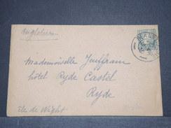 IRLANDE - Enveloppe Pour L 'île De Wright En 1936 - A Voir - L 6303 - 1922-37 Stato Libero D'Irlanda