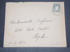 IRLANDE - Enveloppe Pour L 'île De Wright En 1936 - A Voir - L 6304 - 1922-37 Stato Libero D'Irlanda