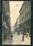 CPA - NANTES - La Rue Crébillon, Animé - Nantes