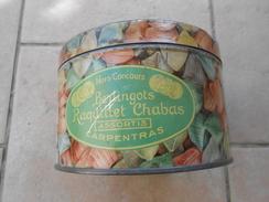 Boîte Métal Raquillet Chabas St Christophe Hors Concours - Scatole