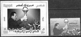 Egitto/Egypte/Egypt: Prova Fotografica, Photographic Proof, Preuves Photographiques, Vittoria Per L'Egitto Nella Coppa D - Coupe D'Afrique Des Nations