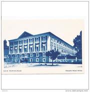 CDZTP4583CPA-LFTMD8543TESC.Tarjeta Postal DE CADIZ.Edificio,arboles,calle.ESCUELA MILITAR DE MARINA EN SAN FERNANDO - Escuelas