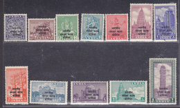 India > Franchigia Militare 1953 1/12  MNH ** - Franchigia Militare